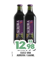 Suco Aurora 1500ml